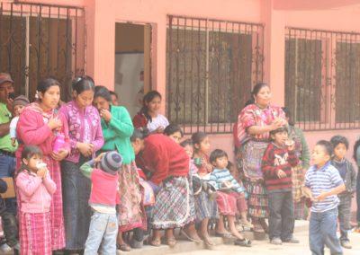 Construcción de aulas en escuela Chicovix, Zunil