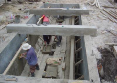 Construcción de planta de tratamiento de aguas negras, 2
