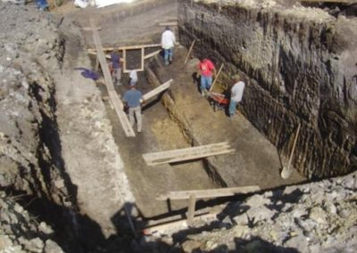 Construcción de planta de tratamiento de aguas negras