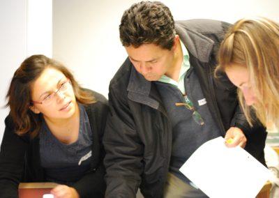 Diseño de planes de trabajo en workshop internacional