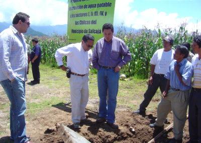 Inauguracion trabajos agua las chilcas Salca 1