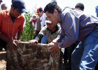 Inauguracion trabajos agua las chilcas Salca 2