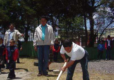 Inauguracion trabajos nuevo modulo escuela Xelaju 2