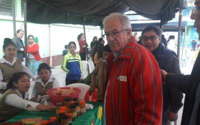 Feria de productos orgánicos