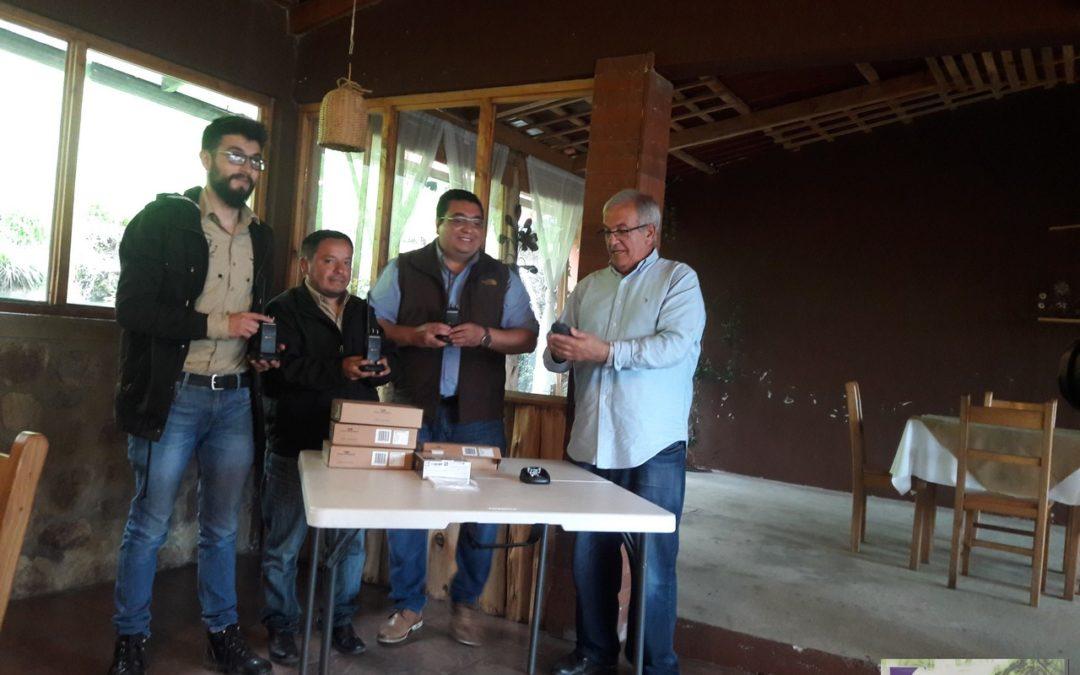 Apoyo en radiocomunicación para comités y municipalidad de Esquipulas